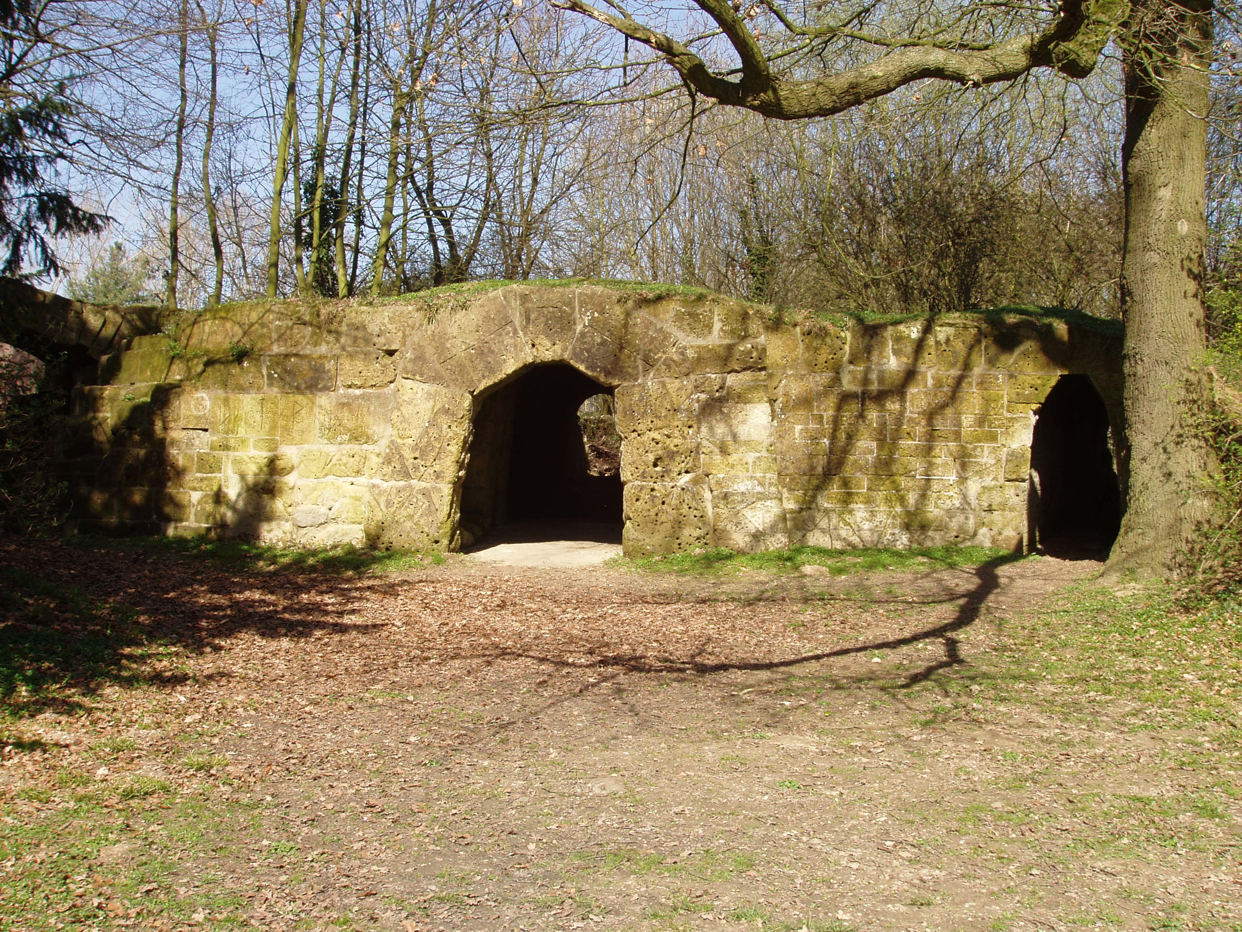 Kasteel amstenrade grot in amstenrade monument - Grot ontwerp ...