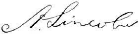 Appletons' Lincoln Abraham signature.jpg