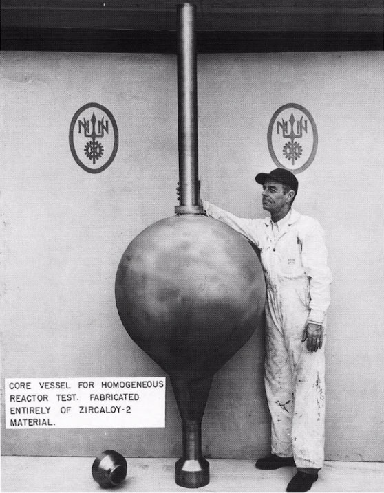 Aqueous Homogeneous Reactor at ORNL
