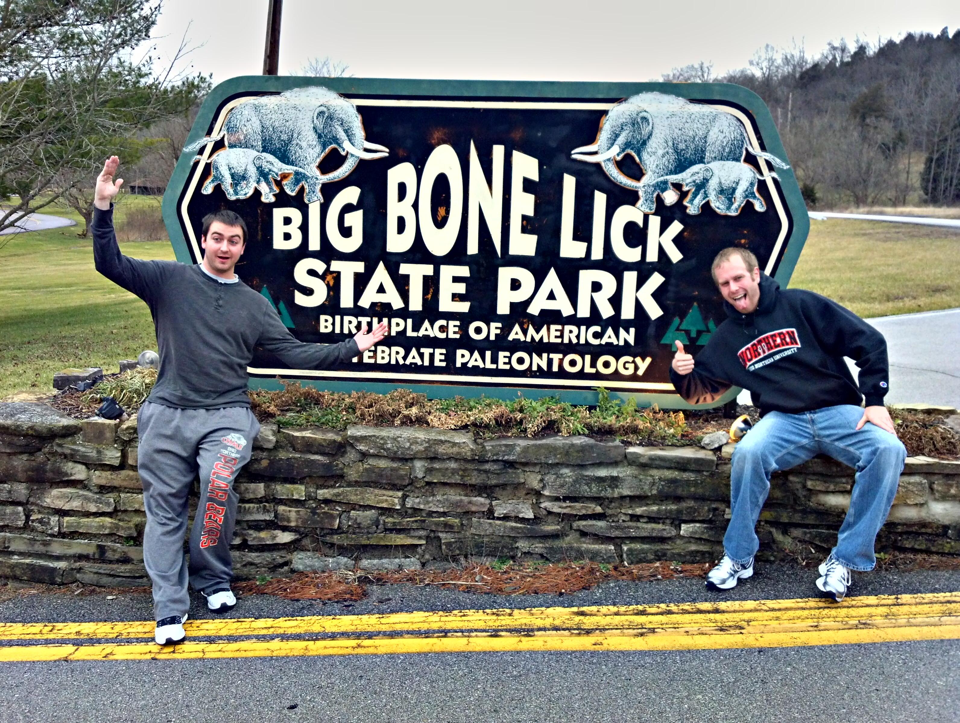 Big bone lick park state really. happens
