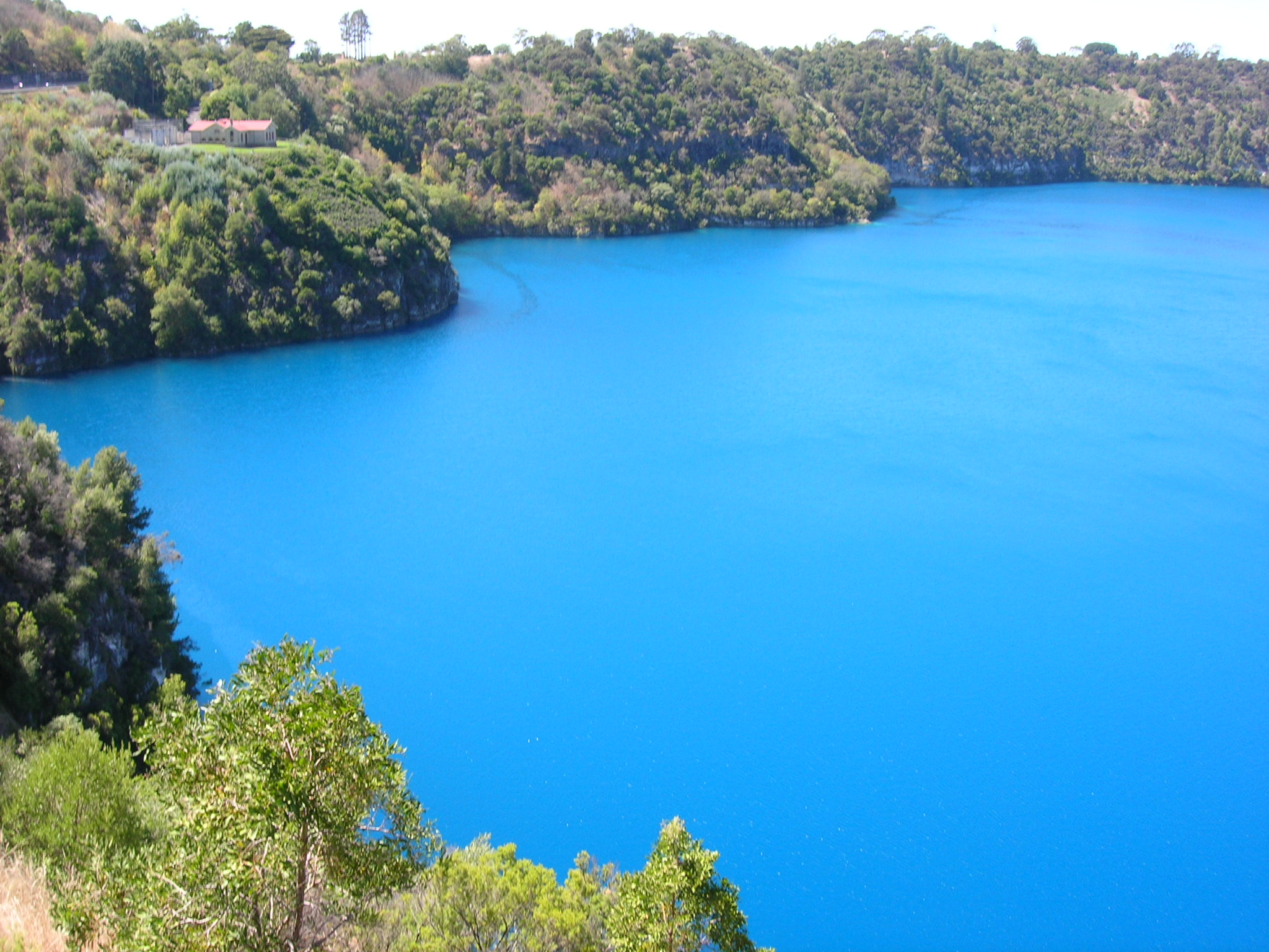 Mount Gambier Australia  city photo : Description Blue Lake, Mount Gambier