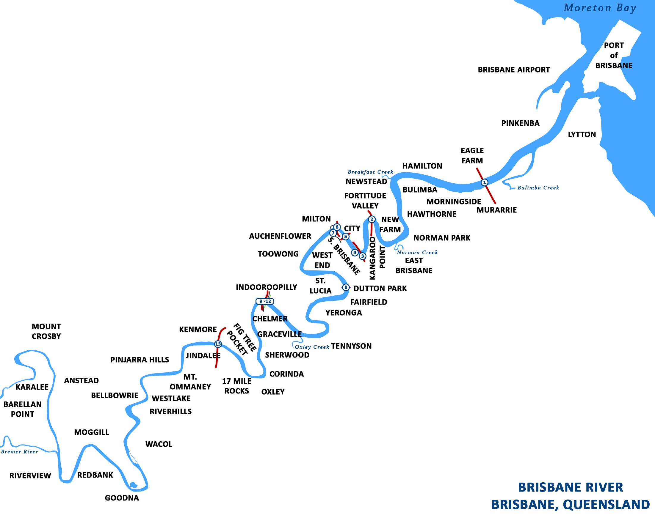 River map of georgia usa