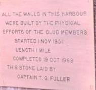 Britannia Yacht Club Harbour plaque 1951-1969.JPG