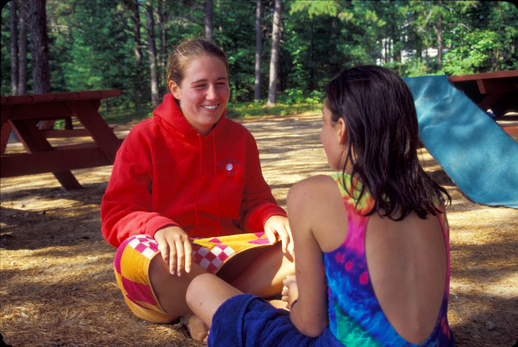 File:Camp Counselor with Girl.jpg - Wikimedia Commons
