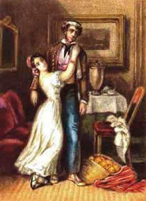 Акварельная иллюстрация к «Кармен» (1845)