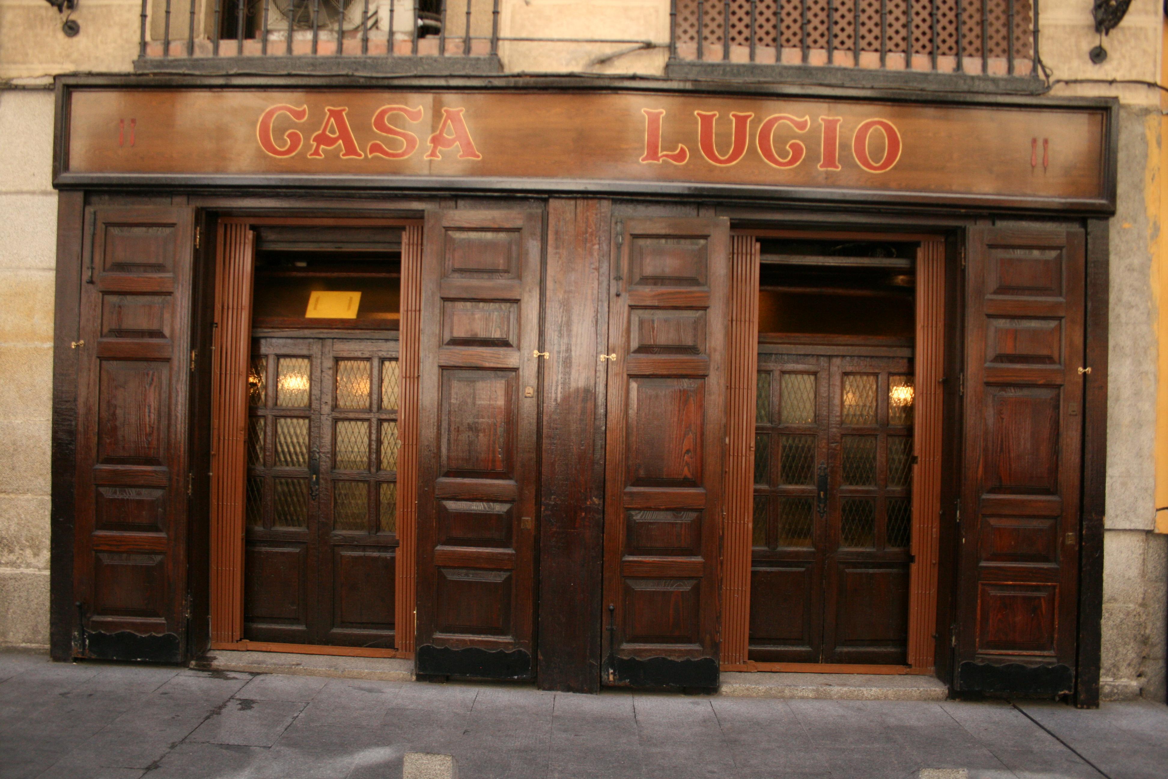 Depiction of Casa Lucio