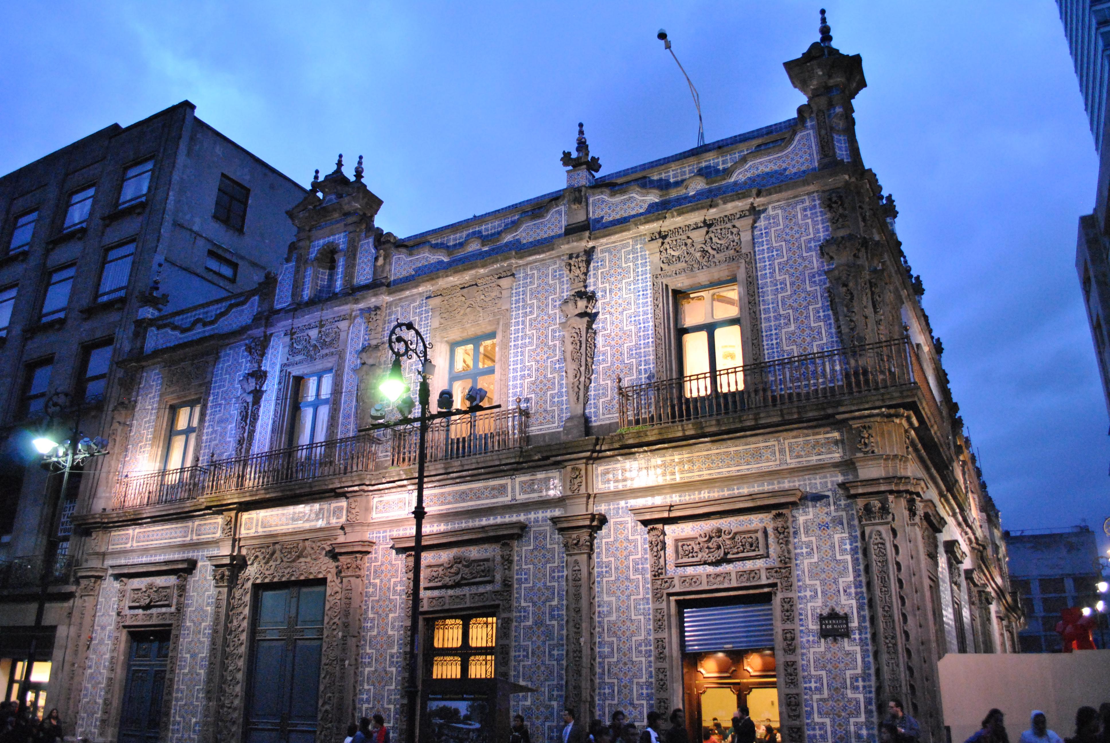 File casa de los azulejos wikimedia commons for Casa de azulejos