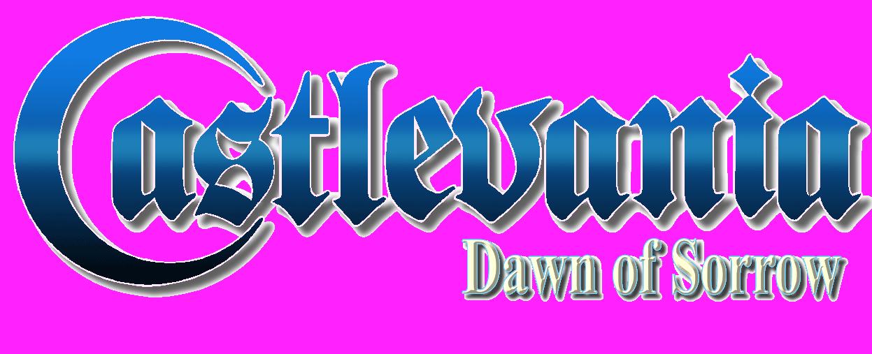 Ficheiro:Castlevania Dawn of Sorrow logo.png