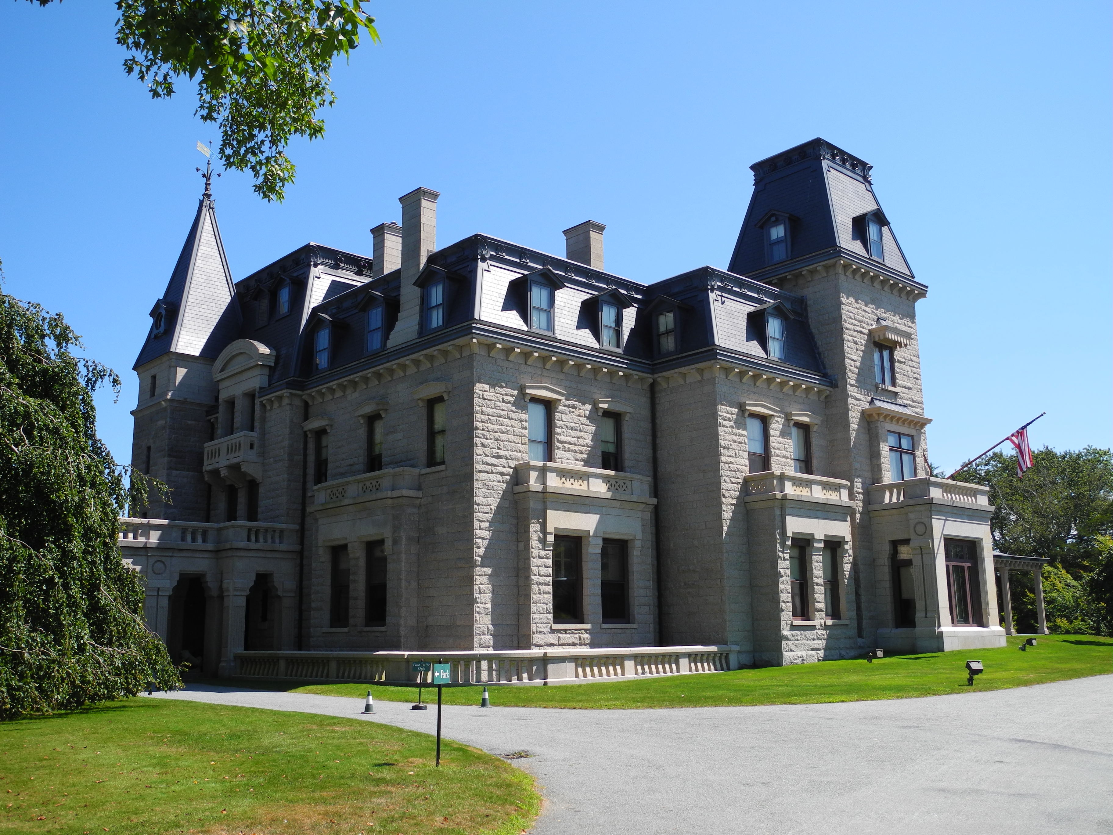 Chateau Sur Mer Newport Rhode Island