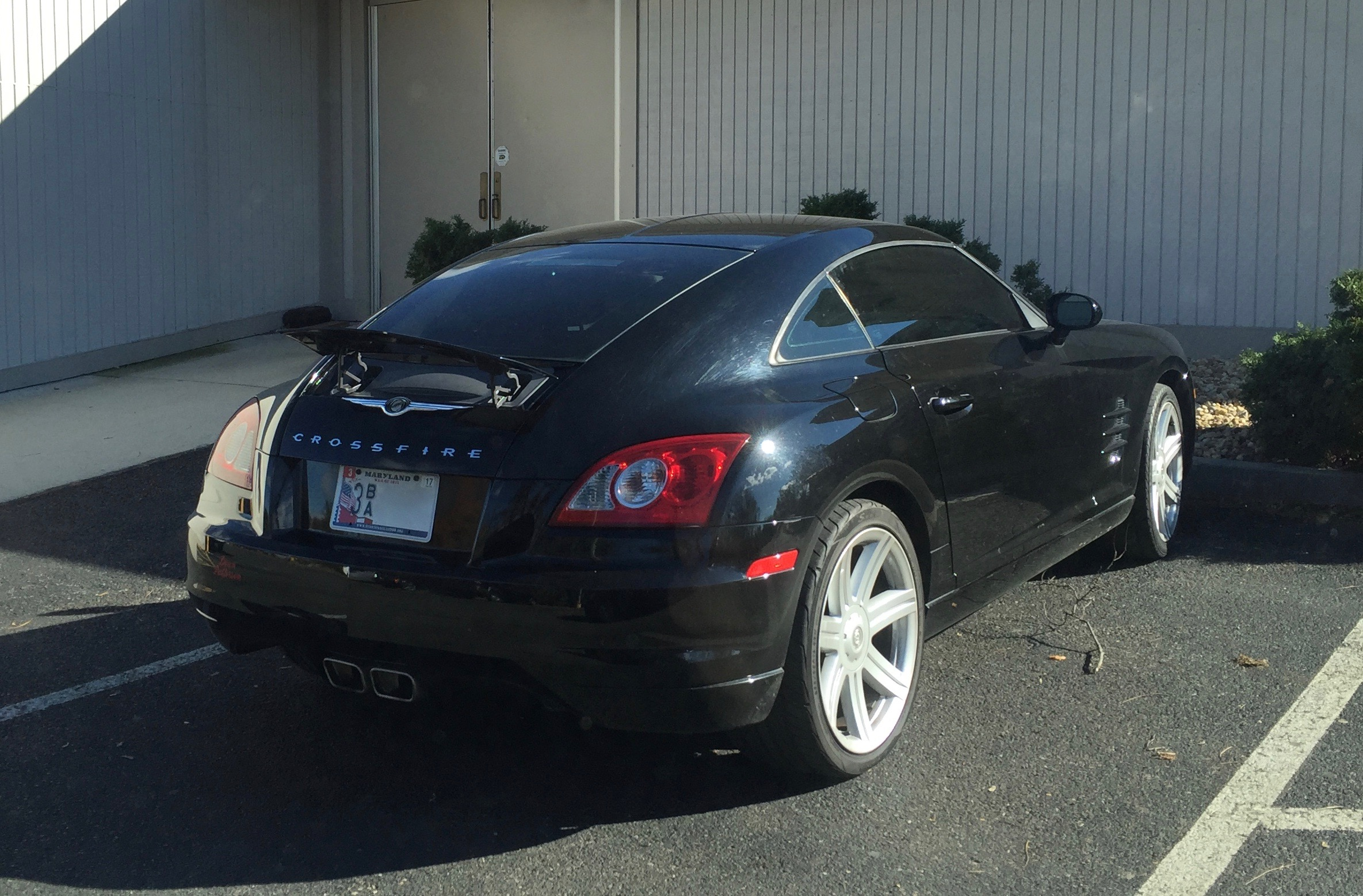 File:Chrysler Crossfire Fastback In Hagerstown MD