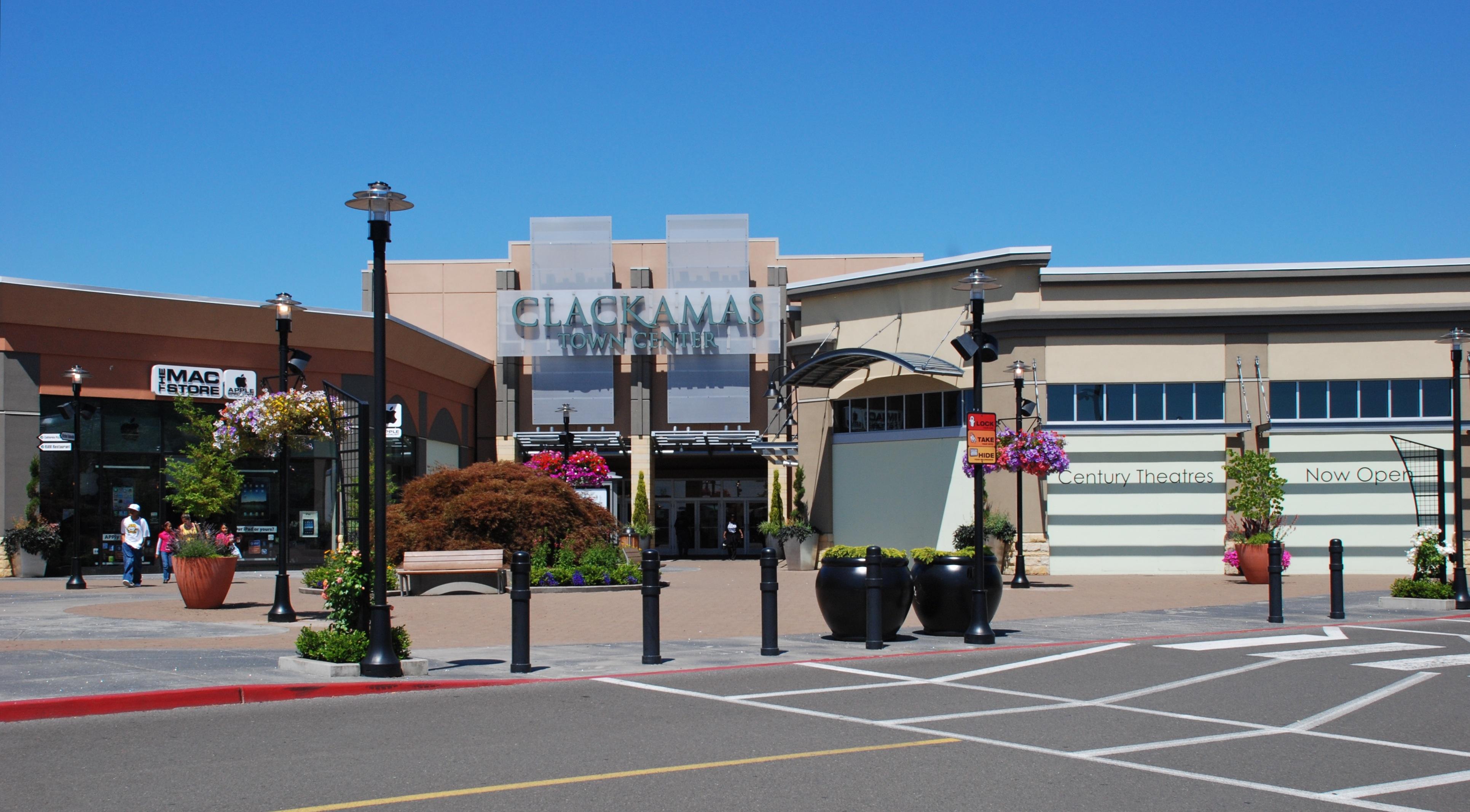 Clackamas Town Center Shoe Stores
