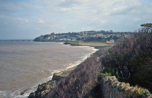 Coast path at Wain's Hill - geograph.org.uk - 1445204