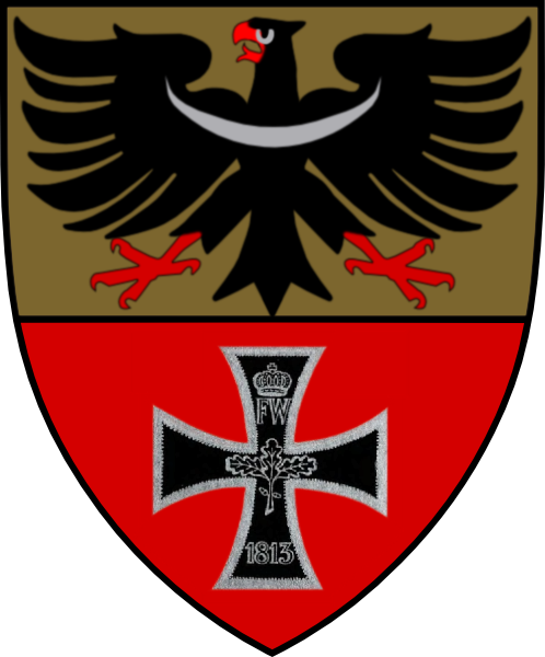 """""""Arisiertes"""" Wappen von Breslau1938–1945 (Entwurf von Mjölnir)"""