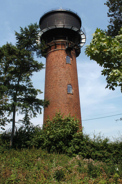 Coleshill Water Tower Geograph Org Uk