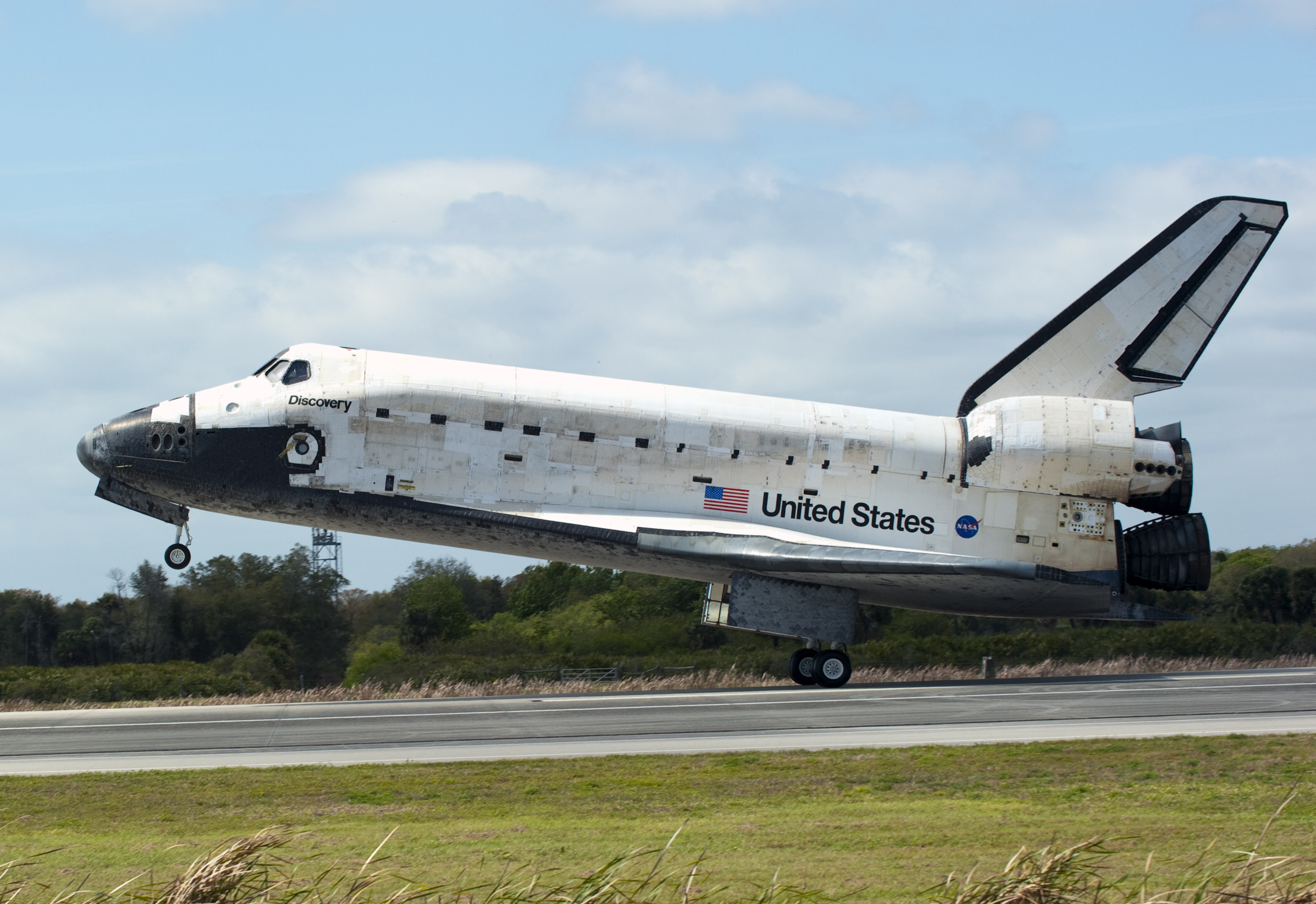 space shuttle landing discovery - photo #6