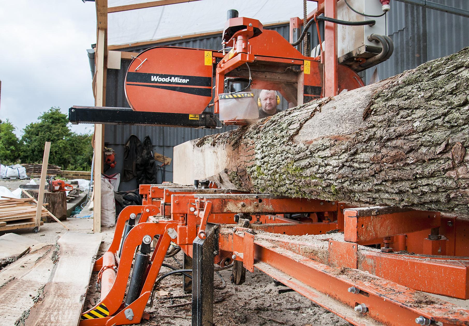 File cutting wood with a portable sawmill g wikimedia