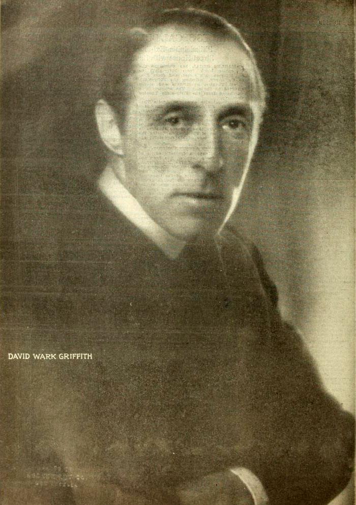 a biography of david lewelyn wark griffith Dw griffith - david llewelyn wark griffith - regizor, scenarist, producator, actor,  compozitor s-a născut la 22011875, cunoscut(ă) pentru intolerance: love's.