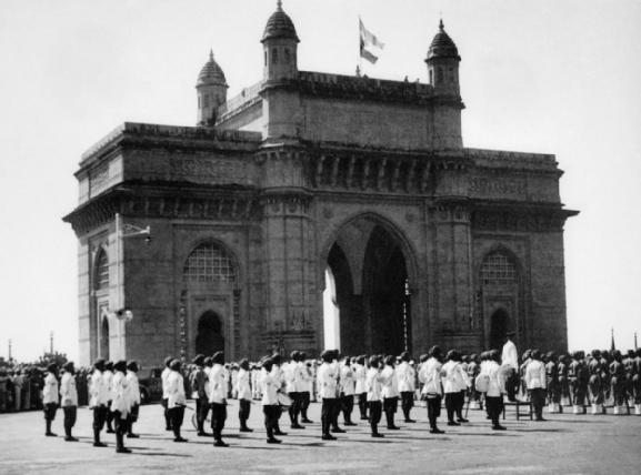 Departure of British Troops from India - 28 February 1948 - Gateway of India