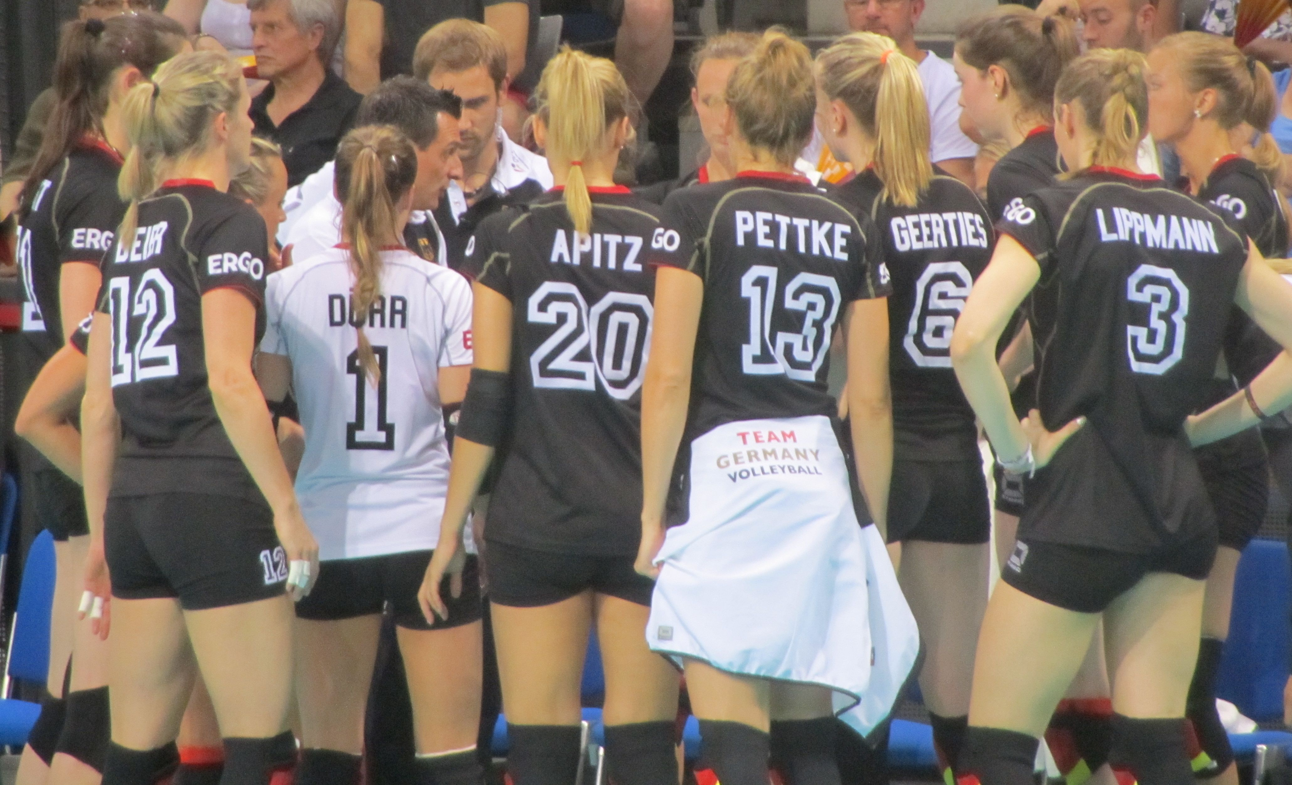 volleyball deutschland frauen