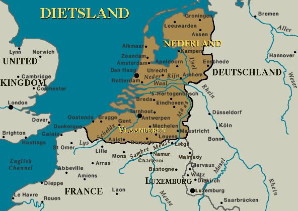 [✔] Royaume des Pays-Bas Dietsland