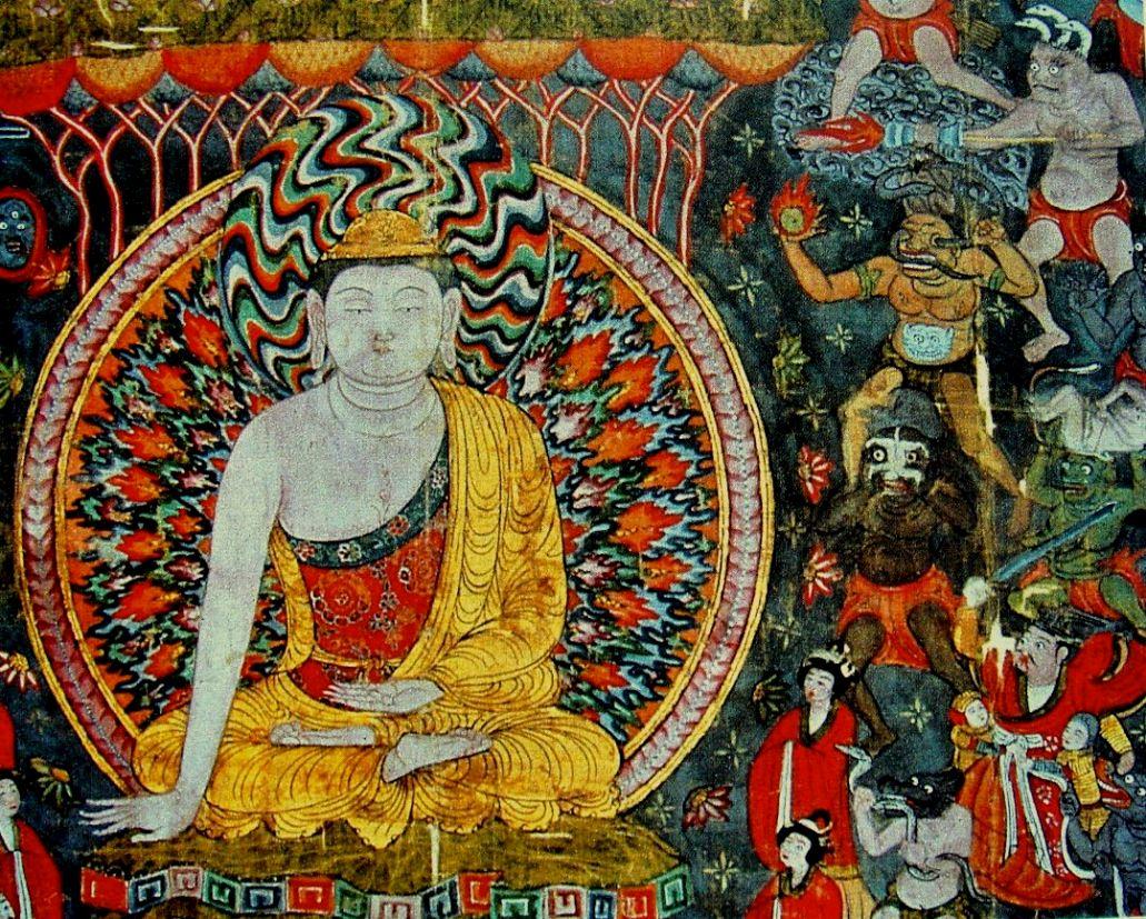 Мара испытывает Будду — Википедия (с комментариями)