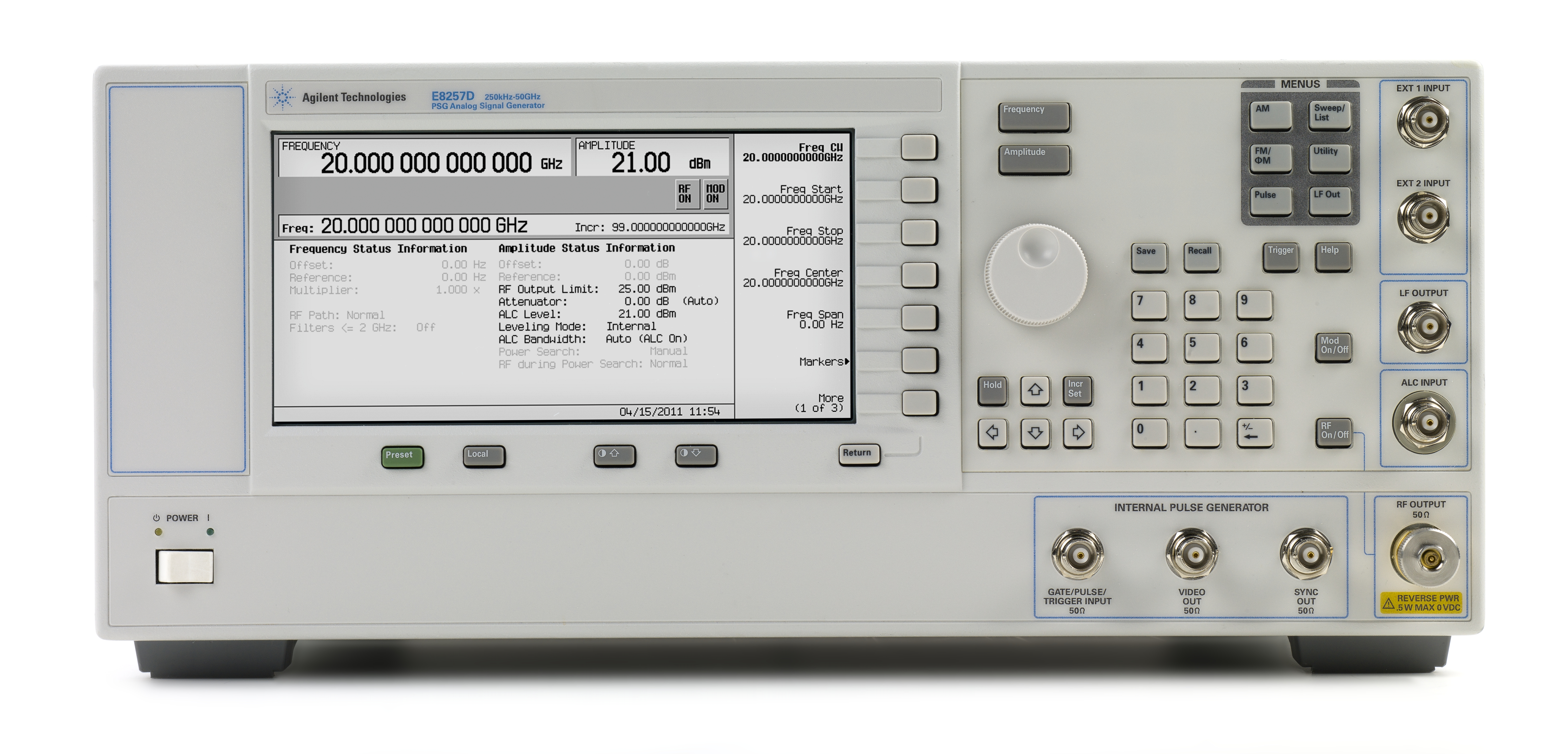 Agilent Signal Generator : File e d psg analog signal generator g wikimedia