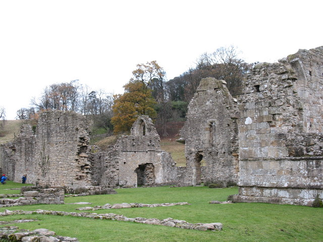 Easby Abbey - geograph.org.uk - 620221
