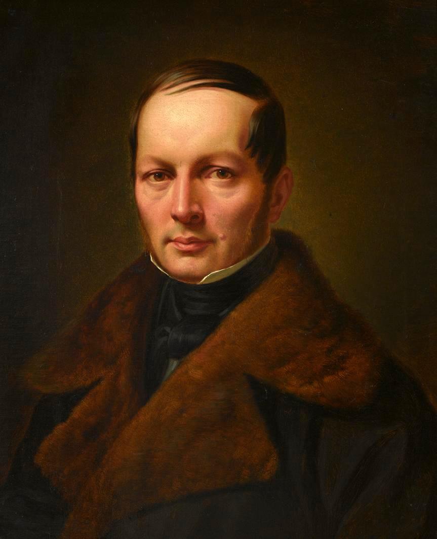 Edward Rastawiecki&#x3B; portrait by [[Jan Ksawery Kaniewski