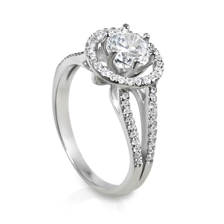 Engagement Ring Size Chart: Engagement ring white gold.jpg - Wikimedia Commons,Chart