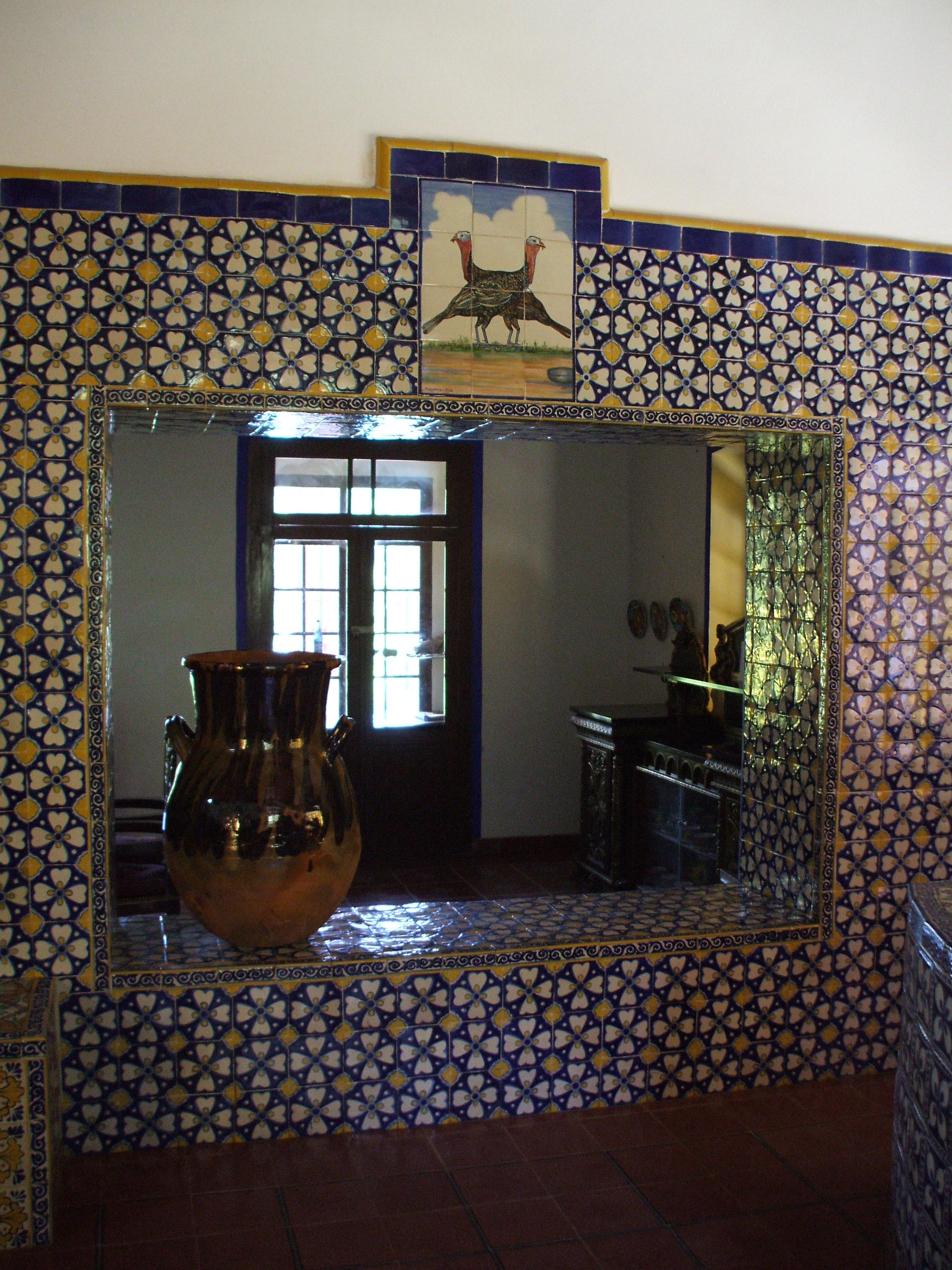 File ex hacienda de chautla san mart n texmelucan puebla cocina wikimedia commons - Azulejos martin ...