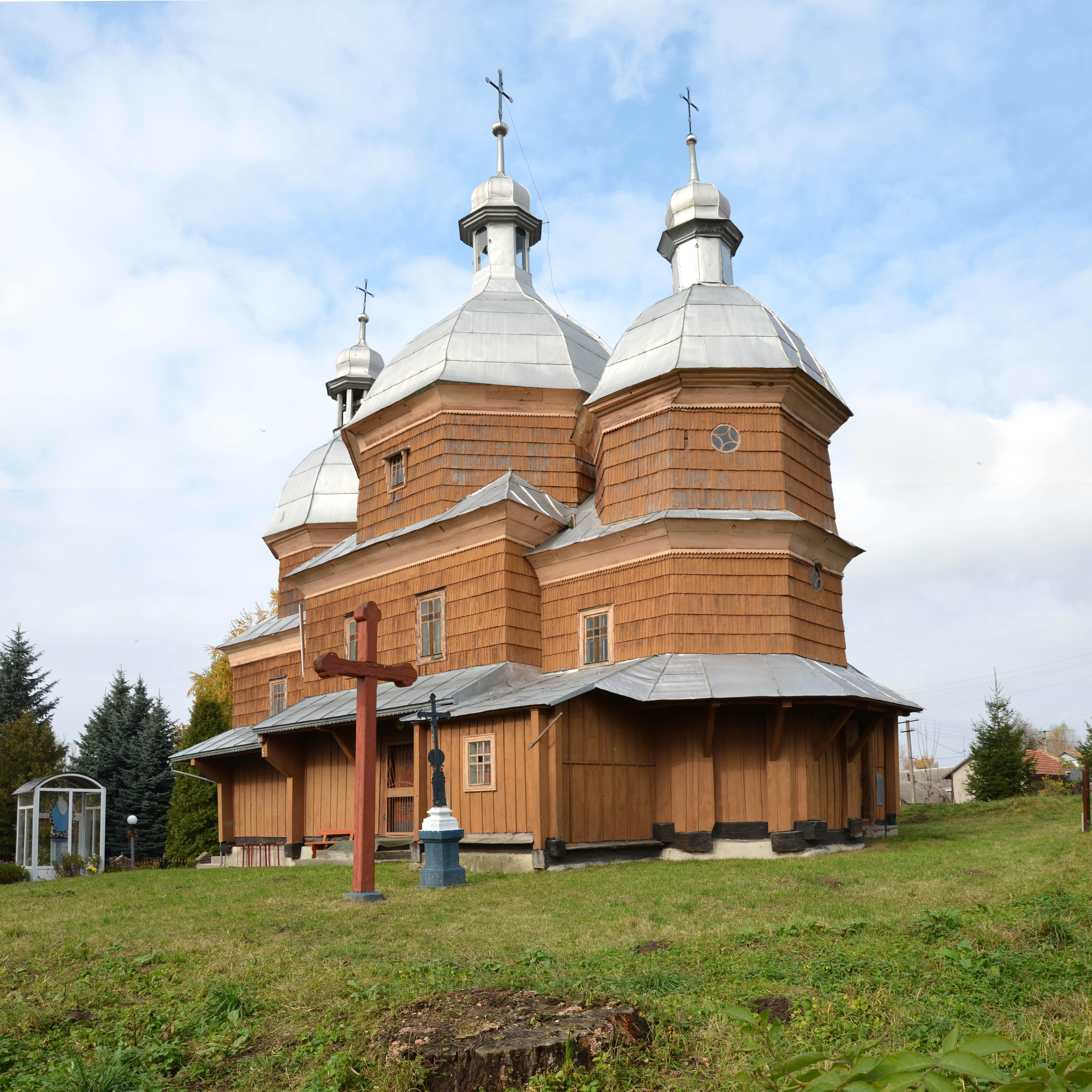 Messageofthecrosschurch Org: Файл:Exaltation Of The Holy Cross Church, Stroniatyn (01