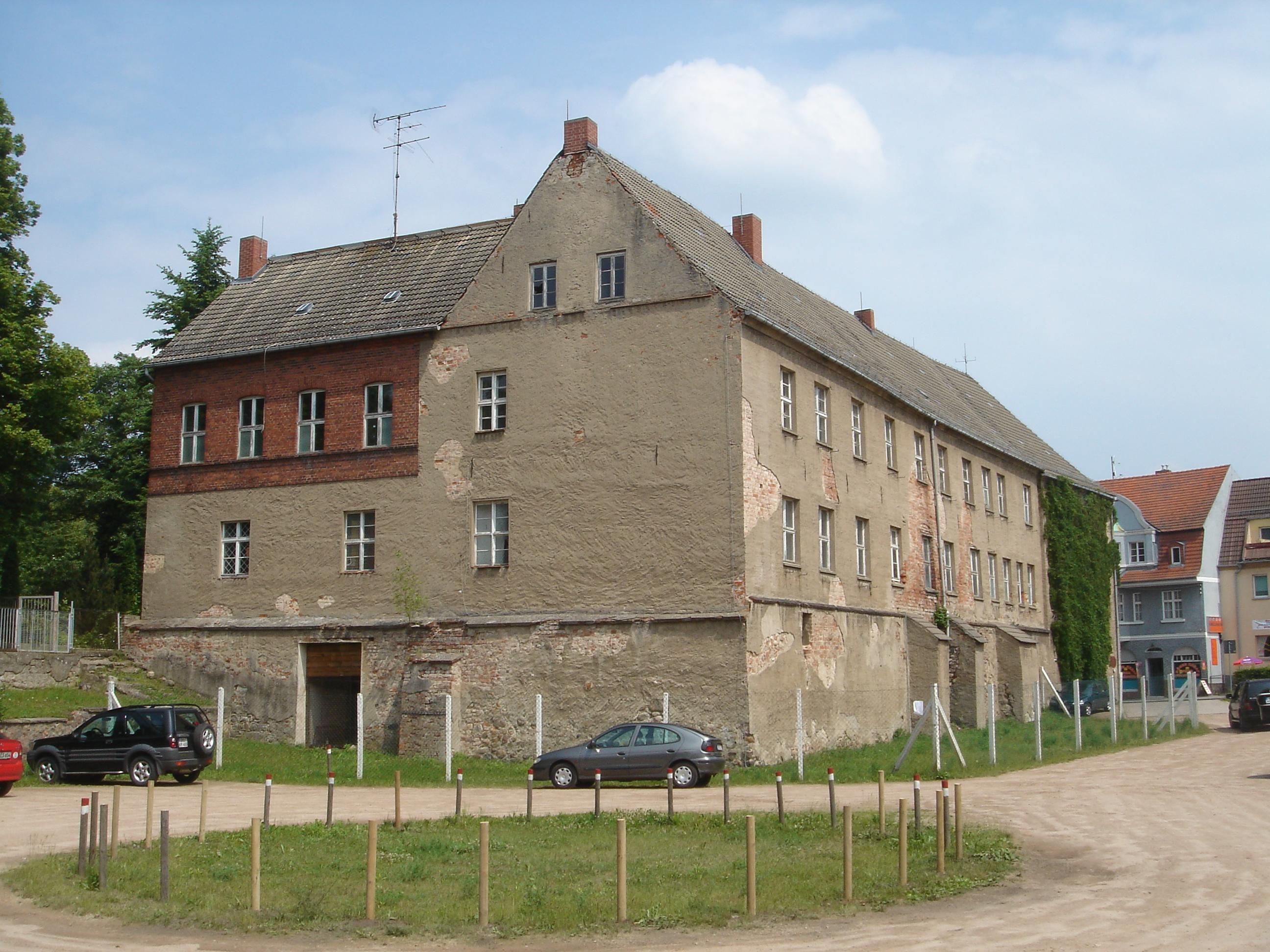 Die Wasserburg in Fürstenberg (2006)