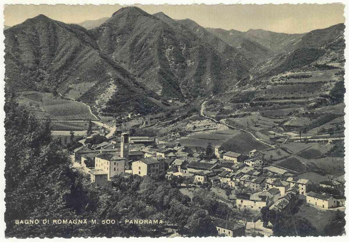 File fc bagno di romagna 1954 panorama - Alberghi bagno di romagna ...