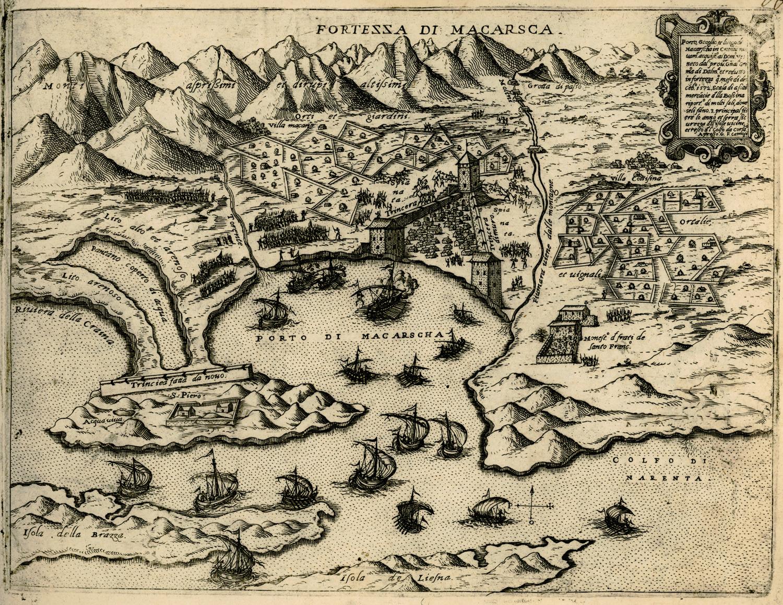 File:Fortezza di Macarsca - Camocio Giovanni Francesco - 1574.jpg
