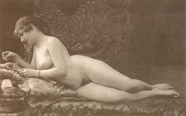 postcards Nude vintage french