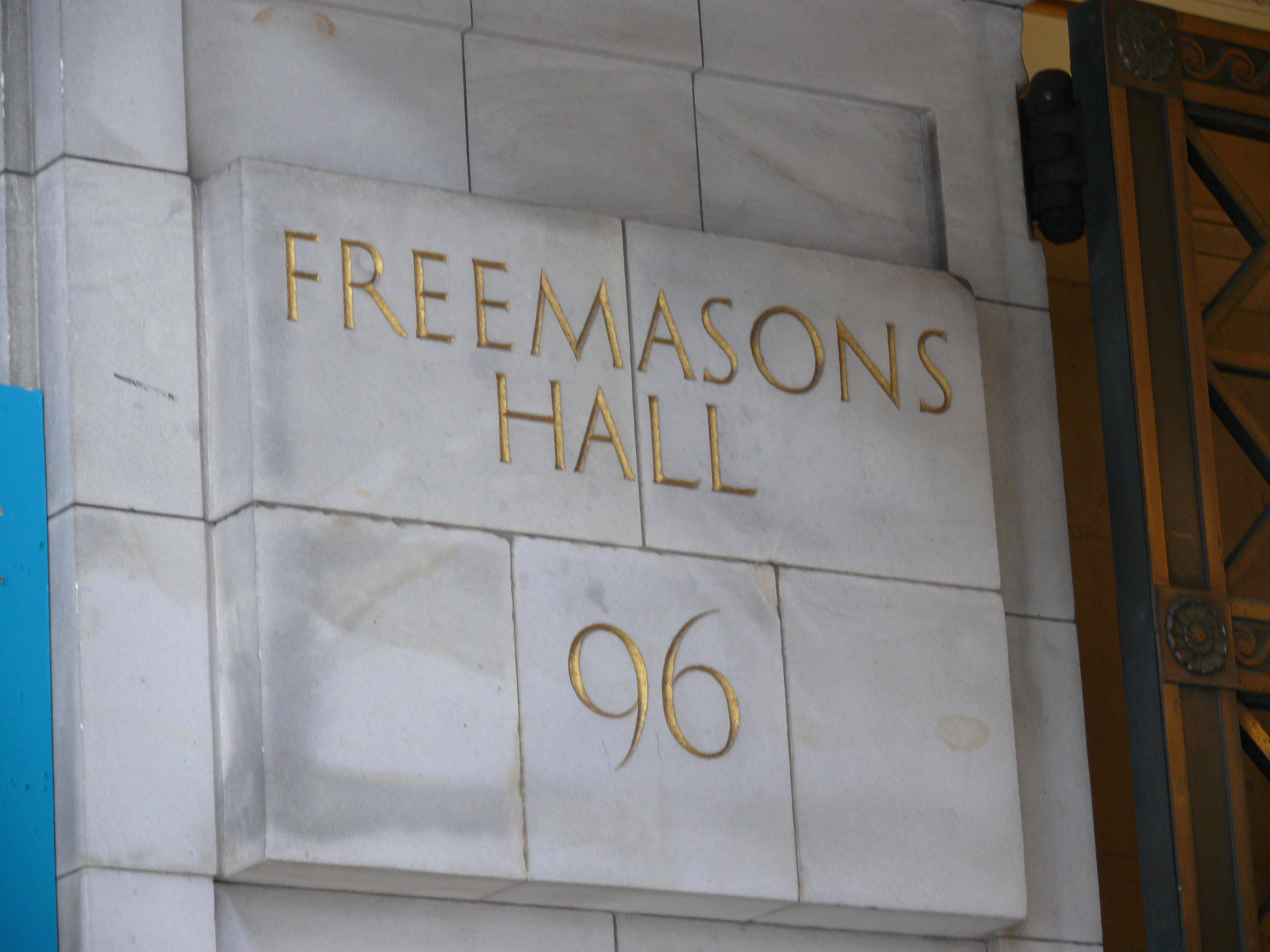 Google Doodle Symbolik George_Street_Freemasons_Hall