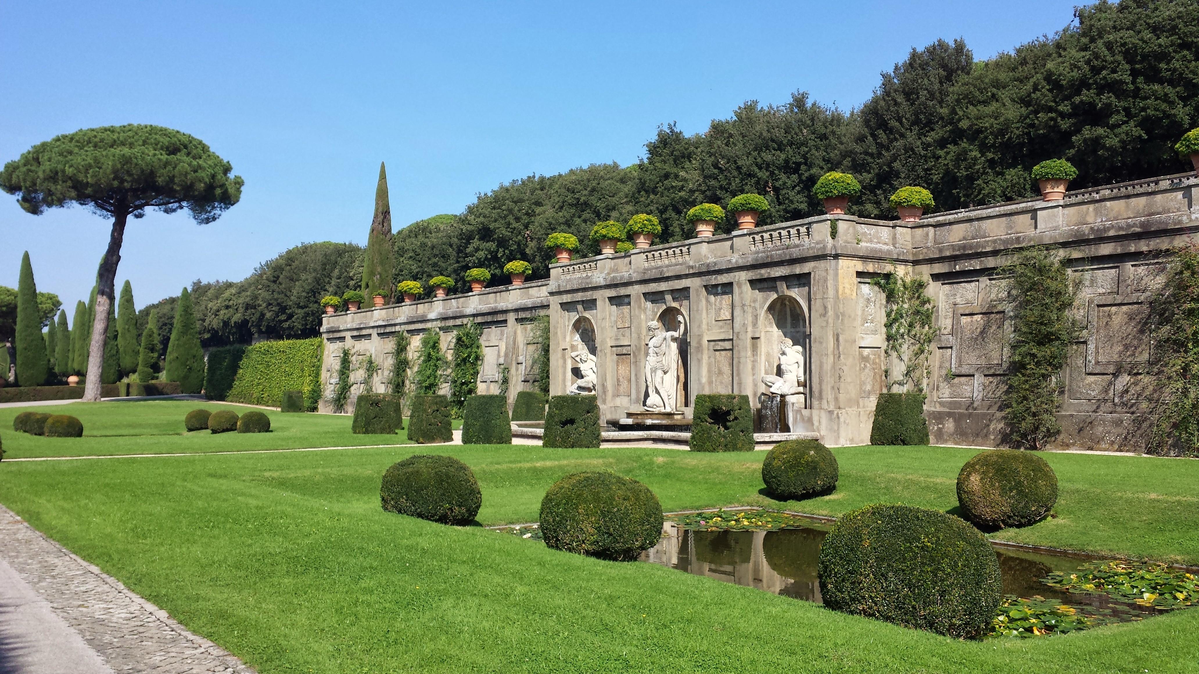 Giardini Di Villa Barberini Castel Gandolfo