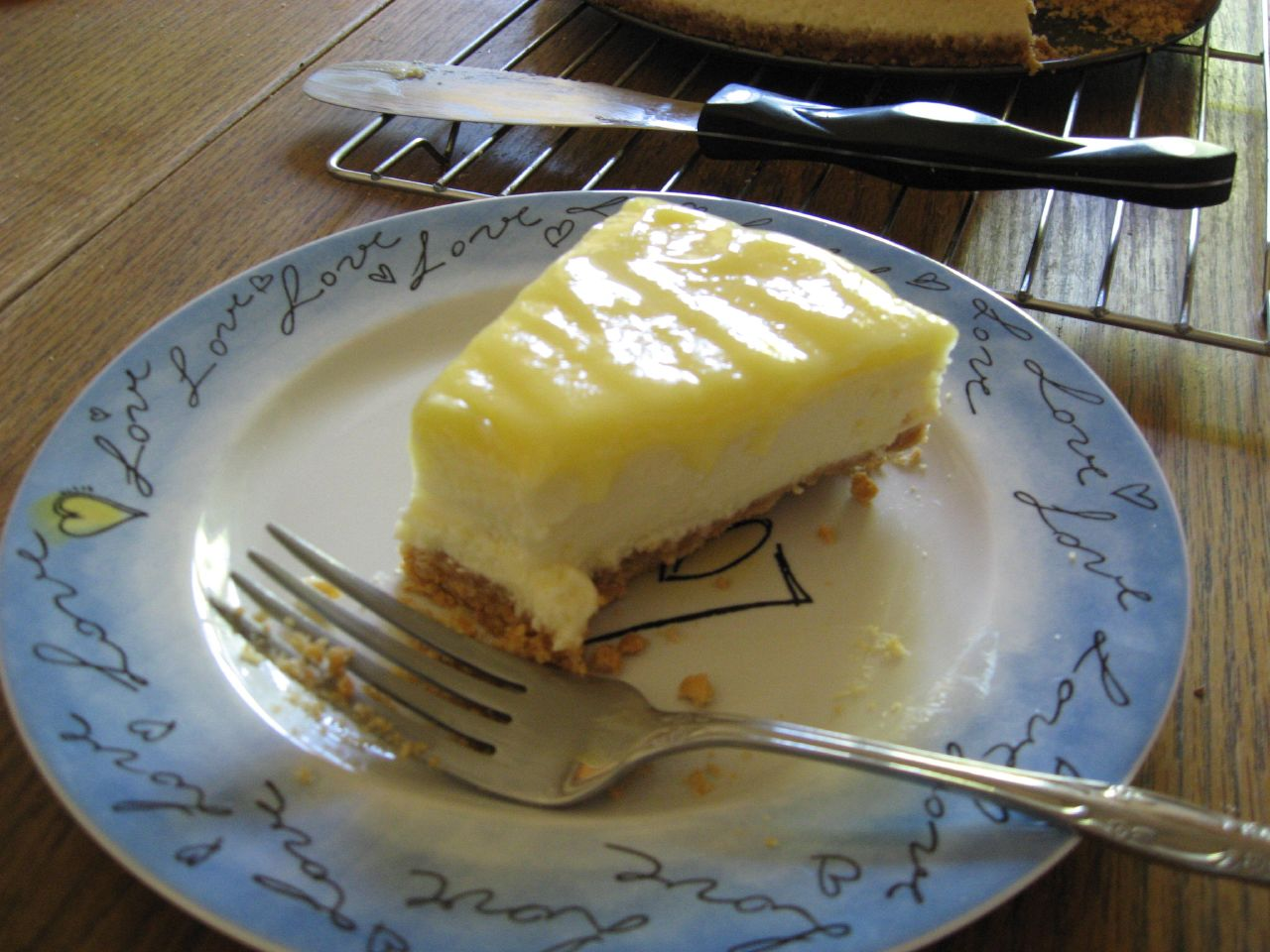 Description Goat Cheese and Lemon Cheesecake with Hazelnut Crust.jpg