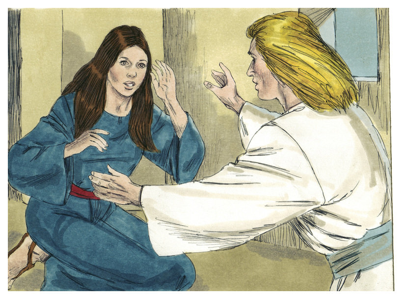 Image Result For Gabriel Visits Mary