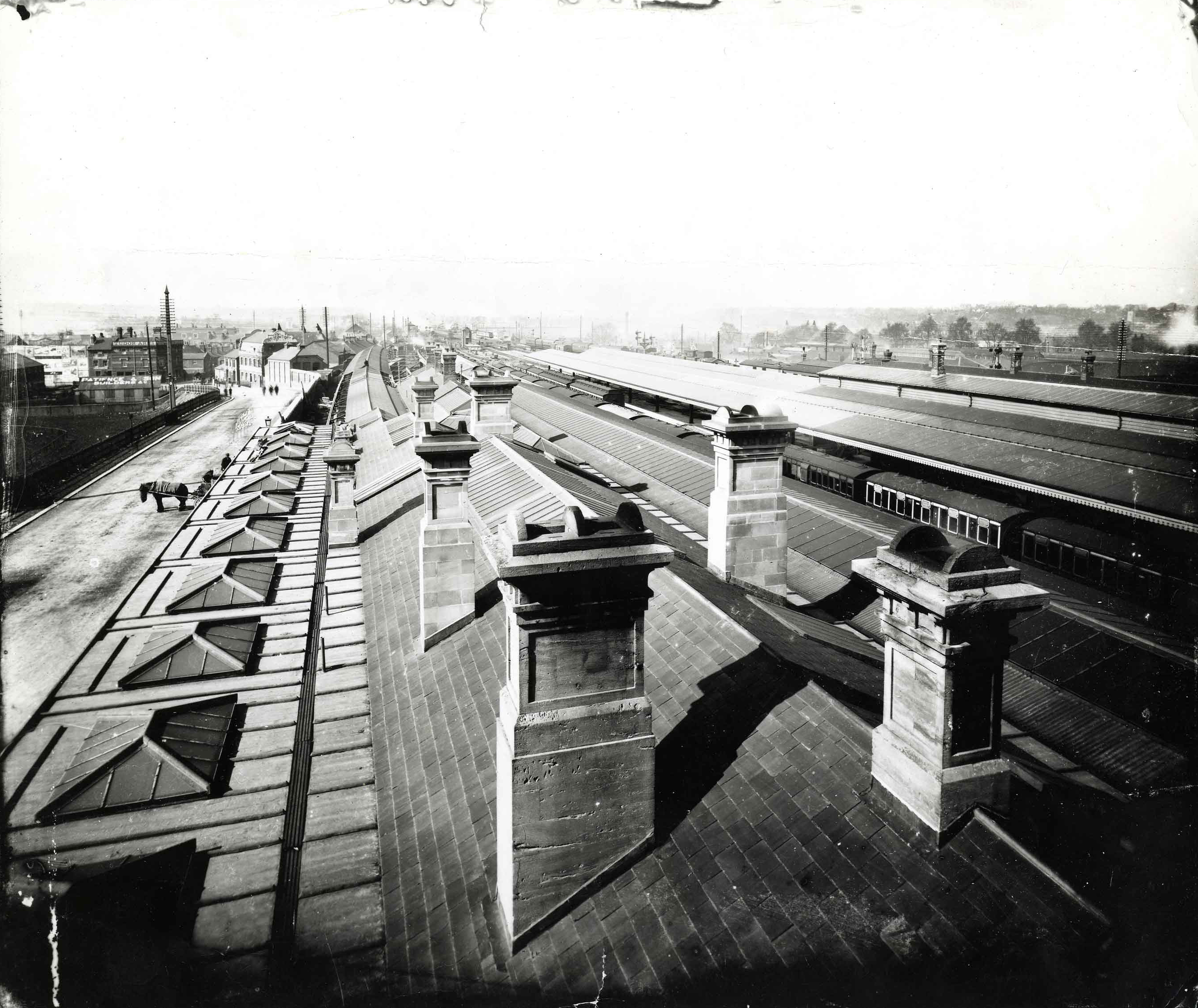 File Great Western Railway Station Reading C 1900 Jpg