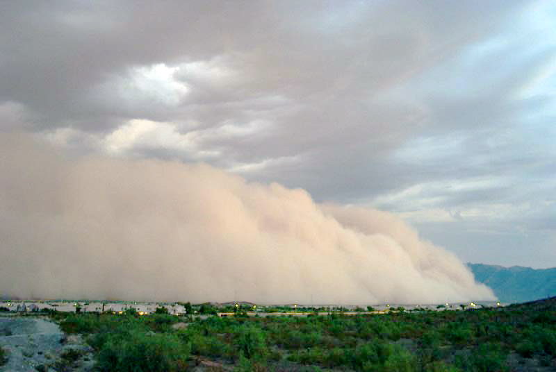 "Now it's dust storms that are caused by ""climate change"" Haboob2"
