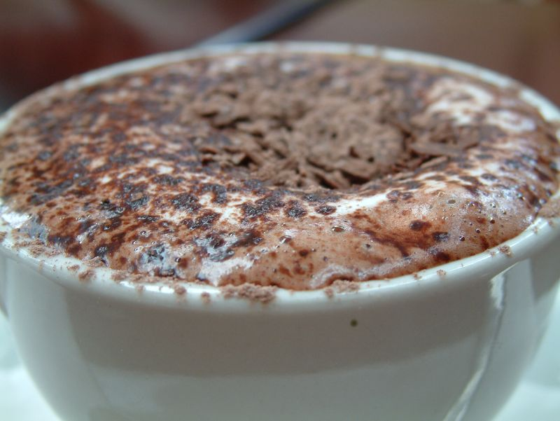 ... hot chocolate hot chocolate in a clay mug mexican hot chocolate hot