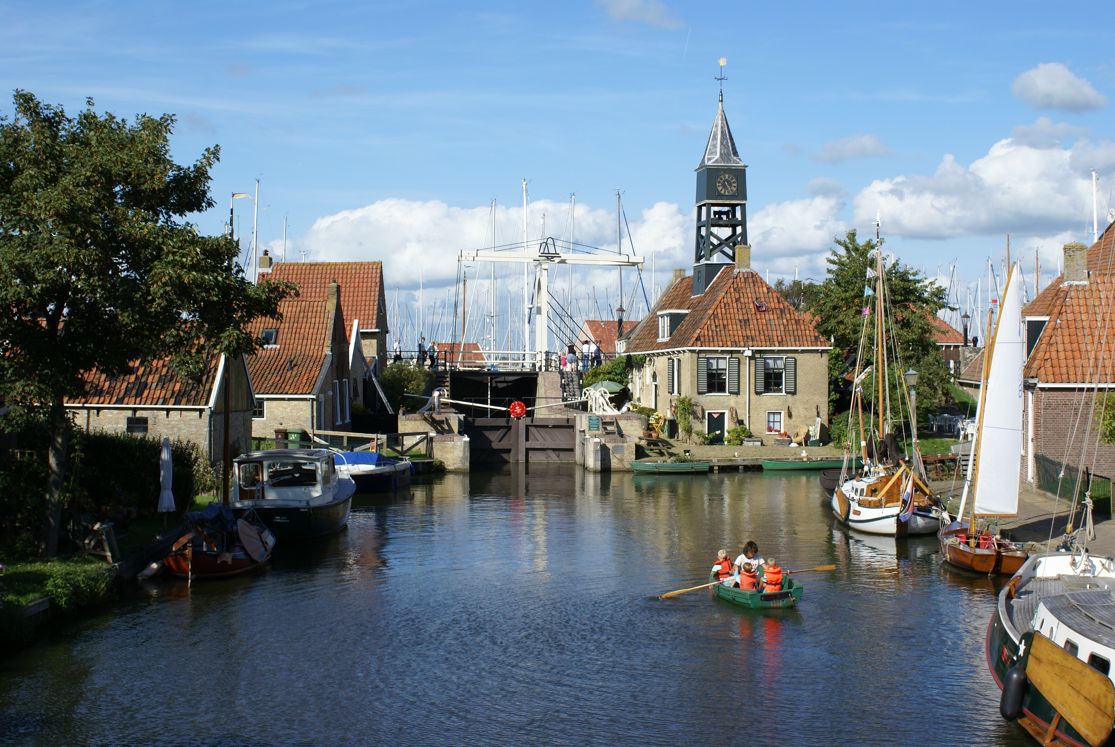 Canal view of Hindeloopen