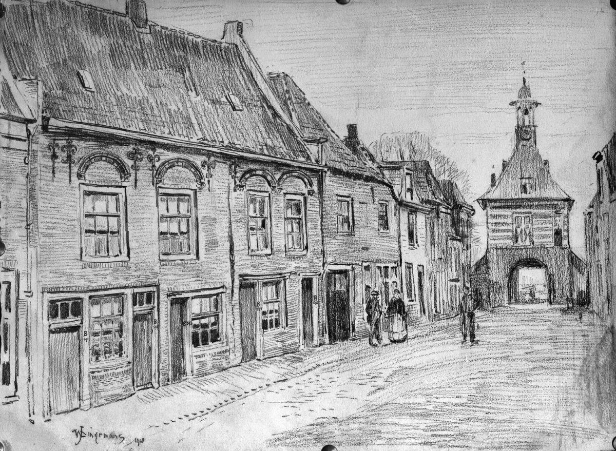 Betere File:Huizen Dalemstr. naar een tekening van J.W.Dingenmans MB-97