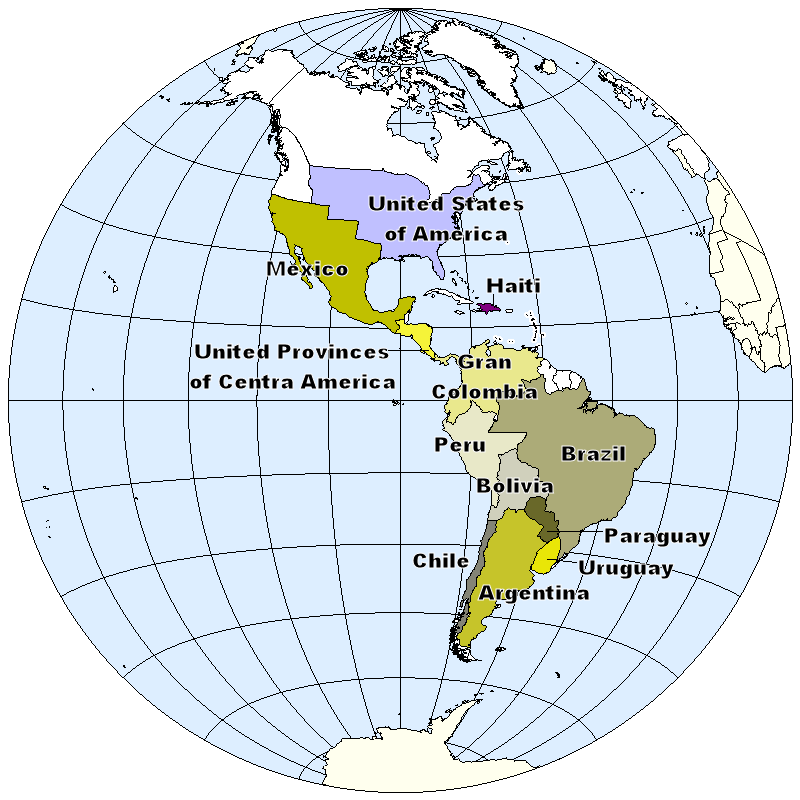 FileIndependence In The Americas Cpng Wikimedia Commons - Us imperialism world map caribbean area latin america asia