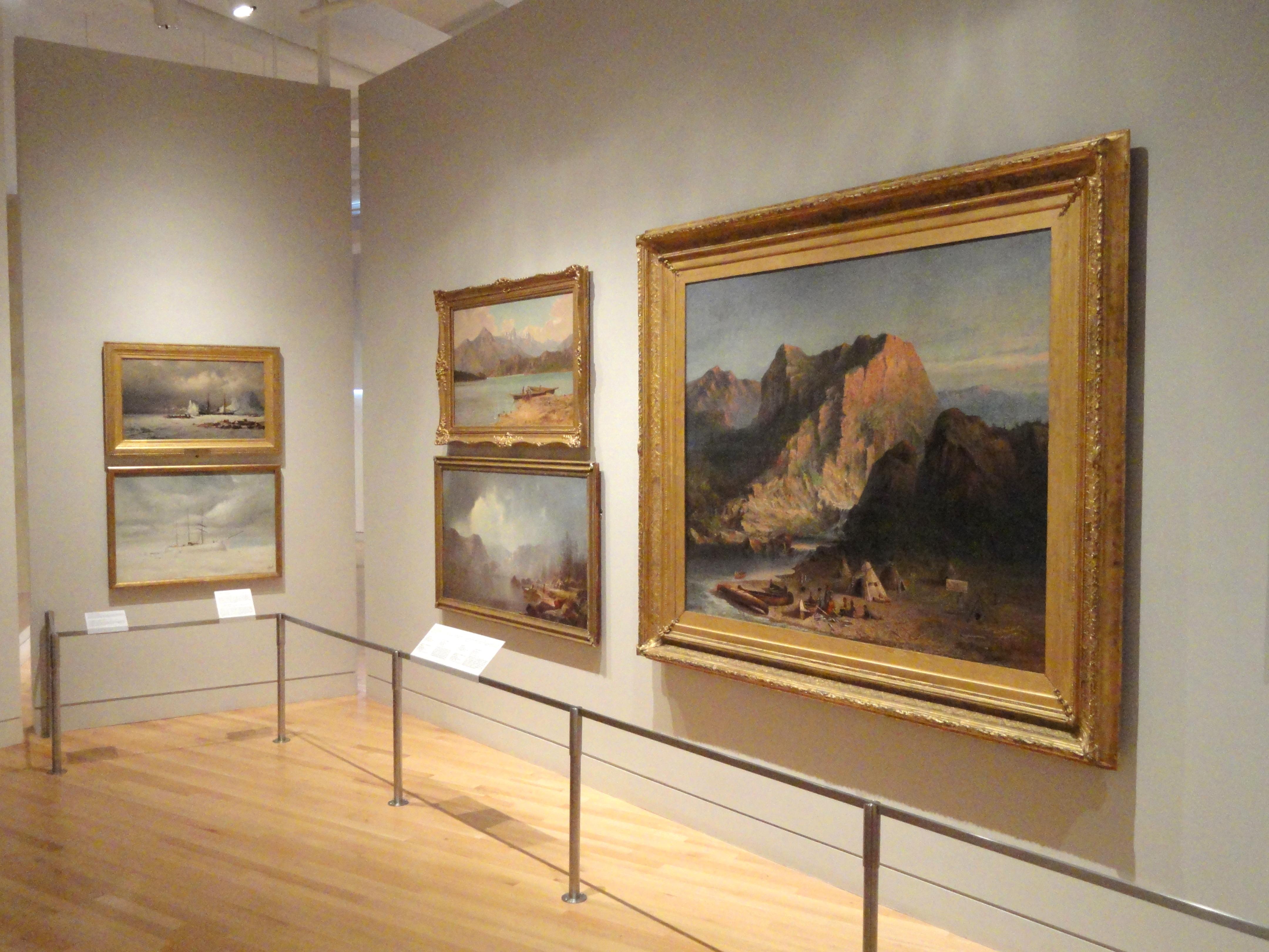 File:Interior View, Canadian Paintings   Royal Ontario Museum   DSC00241.JPG