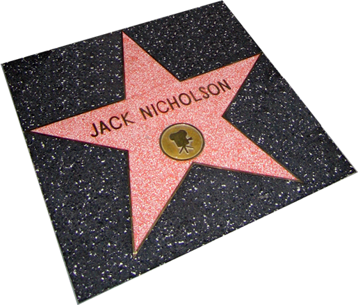 file jack nicholson star in la png   wikimedia commons