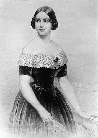 Lind standing at a keyboard Jenny Lind nd.jpg