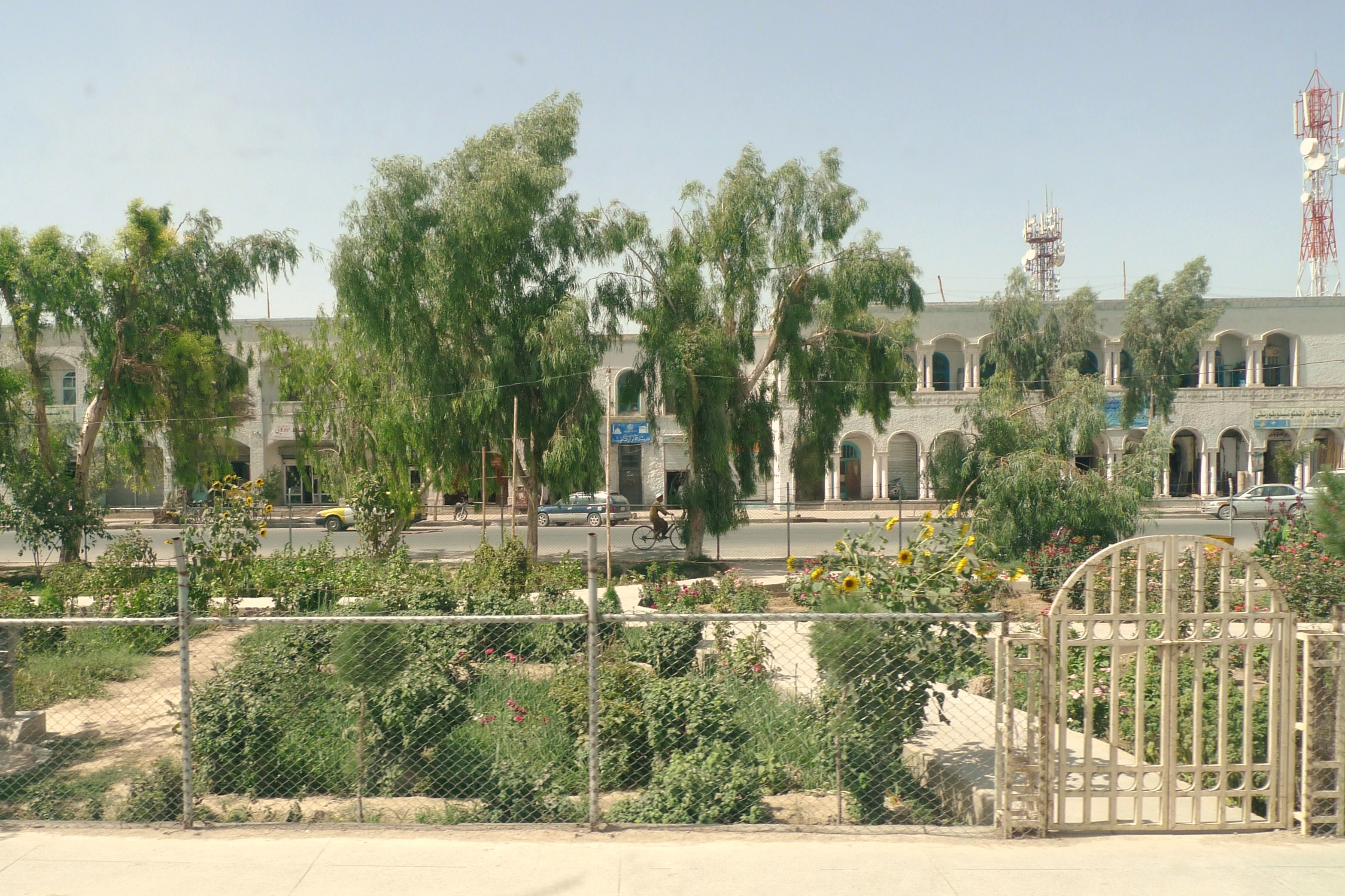 Main street in Kandahar