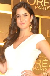 Katrina looking at the camera and posing